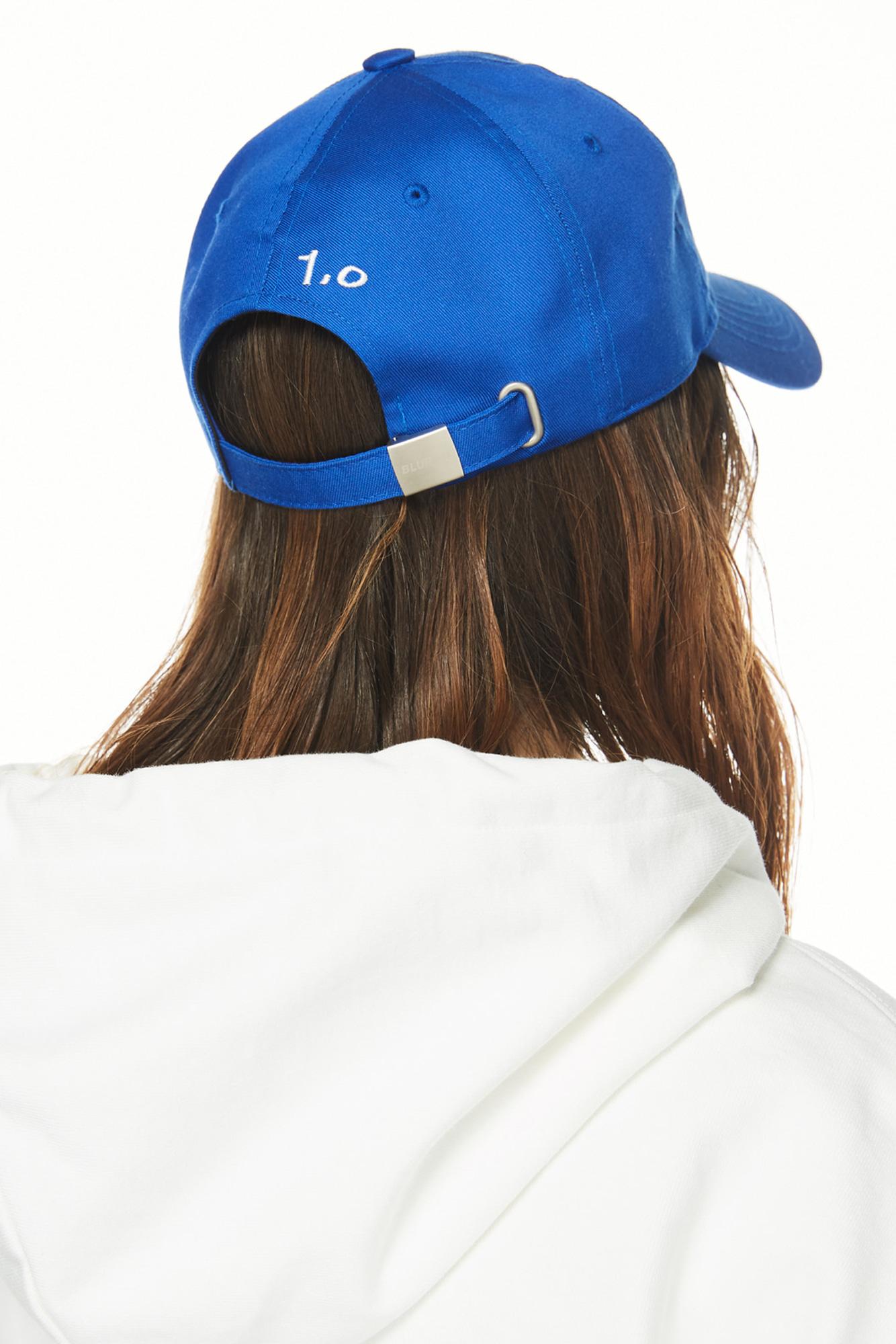 블러1.0(BLUR 1.0) B PATCH CAP - BLUE F