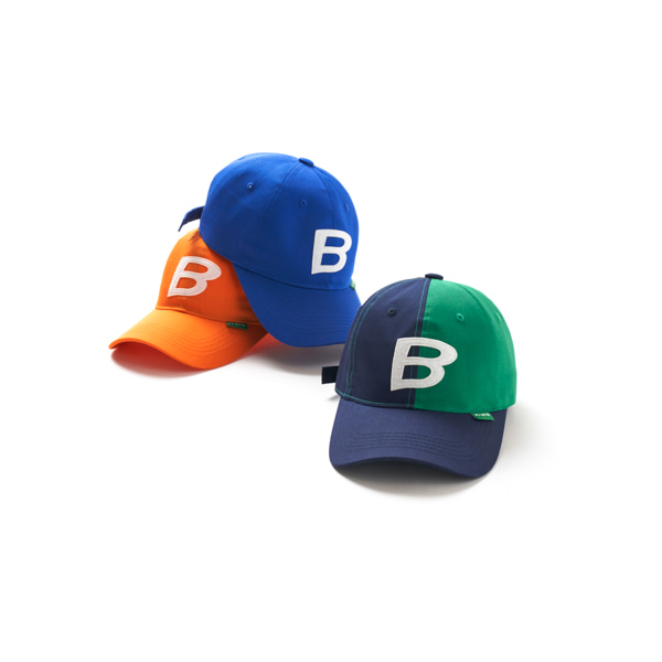 블러1.0(BLUR 1.0) B PATCH CAP - BLUE F