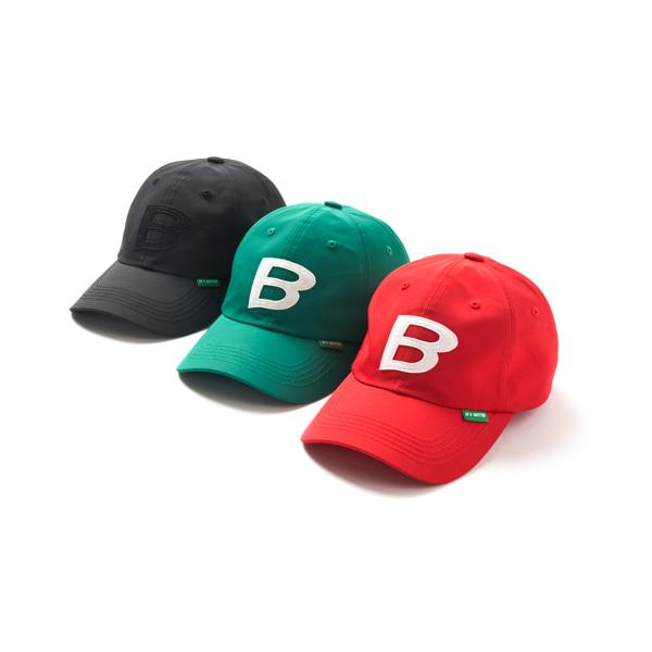 블러1.0(BLUR 1.0) B PATCH NYLON CAP - BLACK F